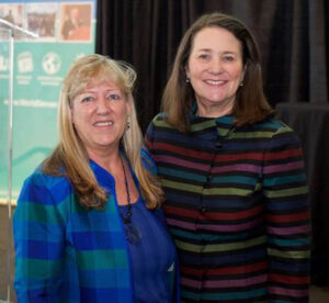 Patricia with Congresswoman Diana DeGette, Colorado's 1st Congressional District Representative