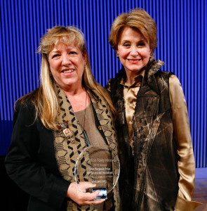 Patricia with Jane Pauley